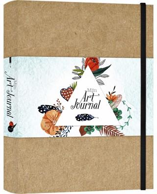 Art Journal A5 bruin