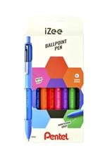 Balpen Pentel  iZee  BX470 set à 8 kleuren