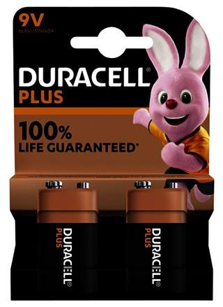 Batterij Duracell Plus 2x9Volt