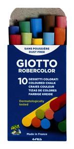 Schoolbordkrijt Giotto ass doos à 10 stuks