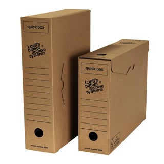 Archiefdoos Loeff's Quick Box 3000 A4 335x240x80