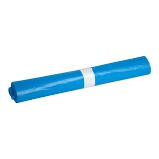 Afvalzak Powersterko T25 120liter recy blauw