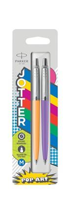Balpen Parker Jotter Originals Popart 60's marigold en frosty purple