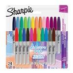 Viltstift Sharpie Electro Pop rond 0.9mm blister à 28 kleuren
