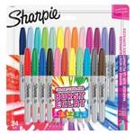 Viltstift Sharpie Colour Burst rond 0.9mm blister à 28 kleuren