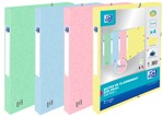 Elastobox Oxford Top File+ A4 25mm pastel assorti