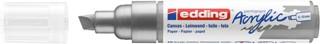 Acrylmarker edding e-5000 breed  zilver
