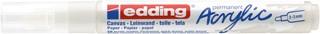 Acrylmarker edding e-5100 medium verkeerswit