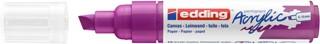 Acrylmarker edding e-5000 breed  bessen rood