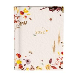 Agenda 2022 Flowers creme