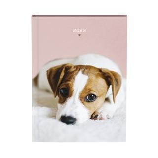 Agenda 2022 honden zacht roze