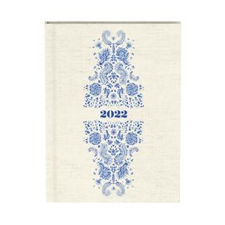 Agenda 2022 Indigo Off-white