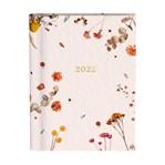 Agenda 2022 Flowers roze