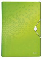 Sorteermap Leitz WOW 6-vaks PP groen