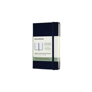 Agenda 2020 Moleskine 12mnd weekly pocket blauw