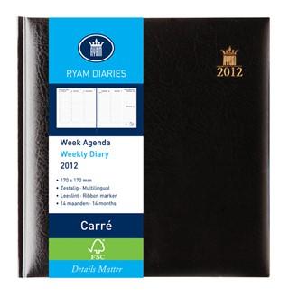 Agenda 2020 Ryam Carré Classic blauw