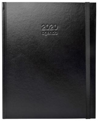 Ag20 A4 basis plus geb. zwart 'leather'