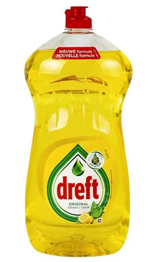 Afwasmiddel Dreft citroen 1,5L