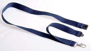 Badgekoord Opus 2 donkerblauw
