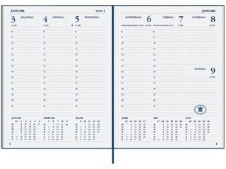 Agenda 2021 Ryam weekplan plus 7dag/2pagina's bordeaux