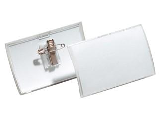 Badge Durable 8211 Click Fold met combiklem 40x75mm