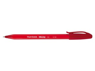 Balpen Paper Mate Inkjoy 100 rood medium