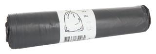 Afvalzak Cleaninq 60x80cm 14micron 60liter grijs 20stuks