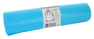 Afvalzak Cleaninq 80x110cm 16micron 160liter blauw