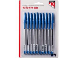 Balpen Quantore stick blauw blister