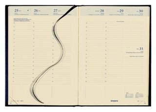 Agenda 2022 Brepols Bretime 16 maanden 7dag/2pagina's zwart