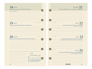 Agendavulling 2022 Brefax 27 7dag/2pagina 6talig