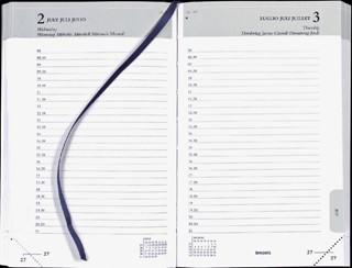 Agenda 2022 Brepols Brefix 1dag/1pagina zwart
