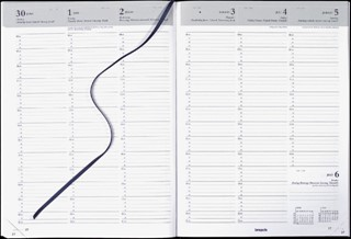 Agenda 2022 Brepols Omega 7dag/2pagina's zwart