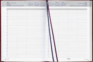 Agenda 2021 Brepols Bremax 2 A4 8 kolommen bordeaux