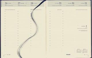 Agenda 2021 Brepols Timing 7dag/2pagina's 6-talig blauw