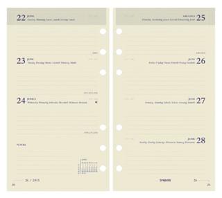Agendavulling 2022 Brefax 17 7dag/2pagina 6talig