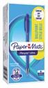 Balpen Paper Mate Flexgrip Stick blauw fijn