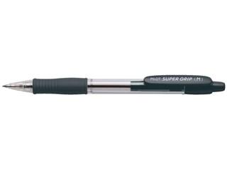 Balpen PILOT Supergrip zwart 0.32mm